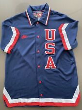 Nike Team USA Basketball Legends Men's SZ L #9 Michael Jordan 23rd Games 1984