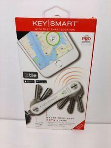 KeySmart Pro KS411R Compact Key Organizer w/ Tile Smart Location Technology NEW