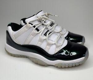 Nike Air Jordan 11 Retro Low GS Emerald Iridescent [528896-145] US 5.5Y