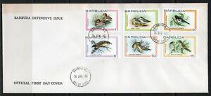 Barbuda FDC stamps birds