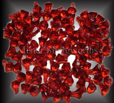 Lego Transparent Red Crystal Jewel Diamond Gem Pirate Treasure NEW Lot of 100