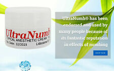 10g ULTRA NUMB® Numbing Cream Skin Painless Tattoo Body Piercing Waxing Laser Dr