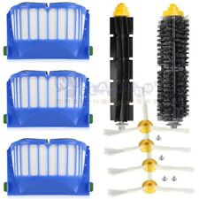 For iRobot Roomba Aerovac 600 Series 620 630 650 660 Filter Brush Kit 3-Armed