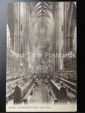 Old PC London: Westminster Abbey, CHOIR, East