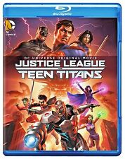 DC Universe Justice League vs Teen Titans (Blu-ray,  2016) - BRAND NEW FILM