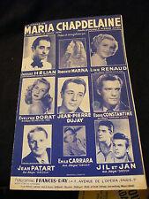 Partitura Maria Chapdelaine Hélian Line Renaud De Constantino Music Sheet