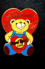 HRC Hard Rock Cafe Bali Valentines Day 1999 Bear