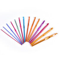 14 Style Aluminum Oxide Knitting Needles Crochet Hook Weave Crochet Needles_ws