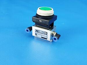 Ross RESK5472.3  Pneumatikventil Fronttafelventil mit Drucktaster Inkl. MwSt