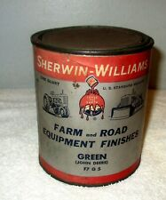 John Deere Green Original Sherwin Williams Equipment Paint Quart Full