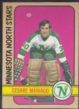 1972-73 TOPPS HOCKEY CESARE MANIAGO #104 NORTH STARS EX *59140
