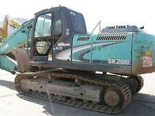 KOBELCO sk200-8 & sk210lc-8 Escavatore-Manuale di Officina