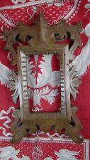 ancien petit cadre porte photo en bois sculpté epoque 1900 st renaissance