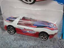 Hot Wheels 2014 # 012/250 Yur so Fast Blanco Lote L Largo Tarjeta Croacia Fútbol