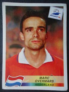 Panini Sticker 315 Marc Overmars Nederland Niederlande # WM 1998 France