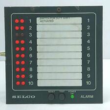 Selco M1000-24-00b Alarm Annunciator 24volt
