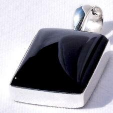 ONYX PERLMUTT Anhänger SILBER 925 31mm f. Kette u. Armband silver 925  VIDEO