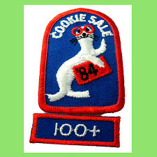 1984 COOKIE Sale Patch You Otter Buy Cookies +100 Sold Rocker NEW Combine Ship