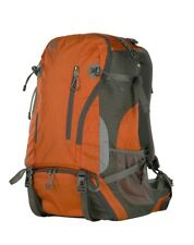 Genesis Denali orange camera backpack travel version for camera and accessories