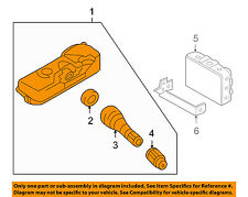 HYUNDAI OEM 10-12 Santa Fe Tire Pressuring Monitoring-Sensor 529330W100