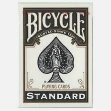Bicycle Black Deck - Playing Cards - Standard - Poker Size - Magic Tricks - New