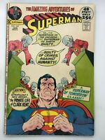 SUPERMAN #247 DC 1972 BRONZE AGE COMIC BOOK MUST THERE BE A SUPERMAN!