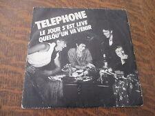 45 tours telephone le jour s'est leve