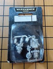 40k Rare oop Blister Metal Space Marine Legion of the Damned LOTD Sergeant NIB 3