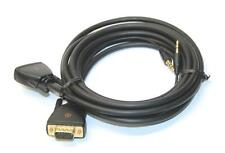 Alphaline 10894 Vga to 3.5mm Audio Cable for Samsung Laptop Pc to Svga Monitor
