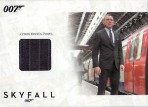James Bond Autographs & Relics SSC25 James Bond's Pants Relic Card