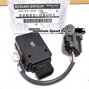 NEW GENUINE Nissan TPS Throttle Switch for RB26 R32 R33 R34 22620-05U01