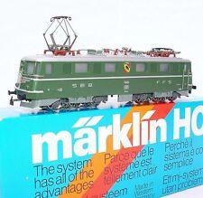 """Marklin AC HO 1:87 Swiss SBB FFS Ae 6/6 11414 """"BERN"""" ELECTRIC LOCOMOTIVE MIB`85!"""