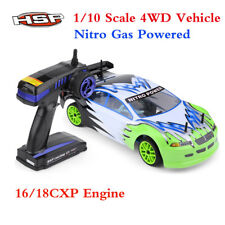 HSP 94102 4WD 1/10th Scale Nitro On Road Touring Car-Two Speed Model Toy Car