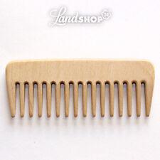 Styling pettine,afrokamm,Pettine per capelli,naturale,legno di faggio,ricci,1A