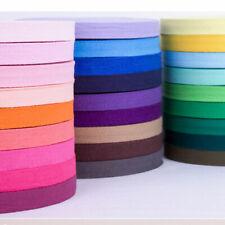 1m  Qualitäts Nahtband Köperband stabil 100 /% Baumwolle 2cm breit schwarz Made