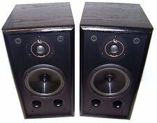 Vintage Infinity RS 325 High-End 2-Way Speakers Black Fully Tested!