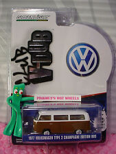 Greenlight Club V-Dub 1977 VOLKSWAGEN TYPE 2 CHAMPAGNE EDITION BUS∞wh/brown VW
