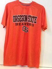 Oregon State University Beavers PRO EDGE 100% Polyester Orange Men's Shirt M Med