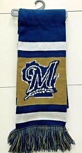 "MILWAUKEE BREWERS SCARF 68"" Long X 7"" Wide...NEW.. MLB Genuine Merchandise"