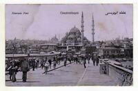 A4870) Turkey Frenh Levant 1912 PC Constantinople Paris
