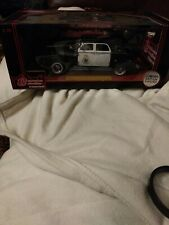 New Vintage 1938 Chrysler Airflow Police Car W/ Coin