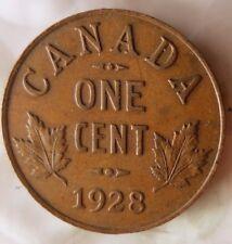 1928 CANADA CENT - Great Collectible Coin - FREE SHIP - Canada Bin ZZ