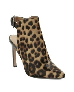Nine West Animal Print Boots With Open Heel. Size 8. Never Worn