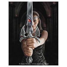 Dragon Réflexion Anne Stokes Plaque Murale Gothicl Fantaisie Art Tableau Toile