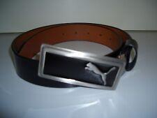 Golfgürtel Marke Puma GenuineLeather schwarz Gr.S 75 cm Gesamtl.ca 95unisex glän