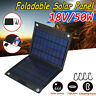 50W Sunpower Solar Folding Panel USB Phone Charger Traval Camping Outdoor