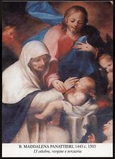 "santino-holy card""""B.MADDALENA PANATTIERI DA TRINO"