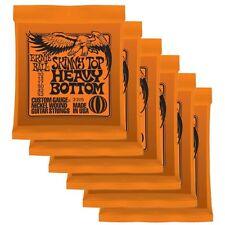 Ernie Ball 2215 Skinny Top Heavy Bottom 6 x SETS 10/52