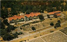 ST HELENA, California CHRISTIAN BROTHERS WINERY Aerial View CA Postcard