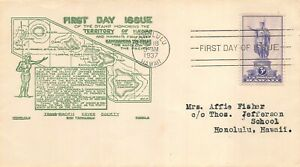799 3c Hawaii, 1st Trans Pacific Cover Society cachet in green [051121.1010]